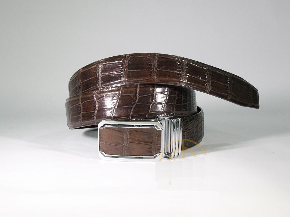 dây thắt lưng nam da cá sấu