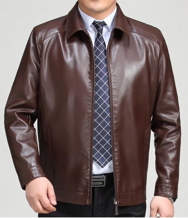 Mua áo khoác da thật cao cấp loại nào cho anh chàng văn phòng thích chỉn chu?